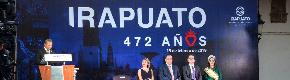 472 aniversario de Irapuato, así se vivió