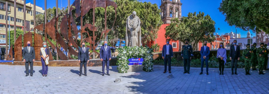¡Así se celebra en Irapuato el 474° Aniversario!