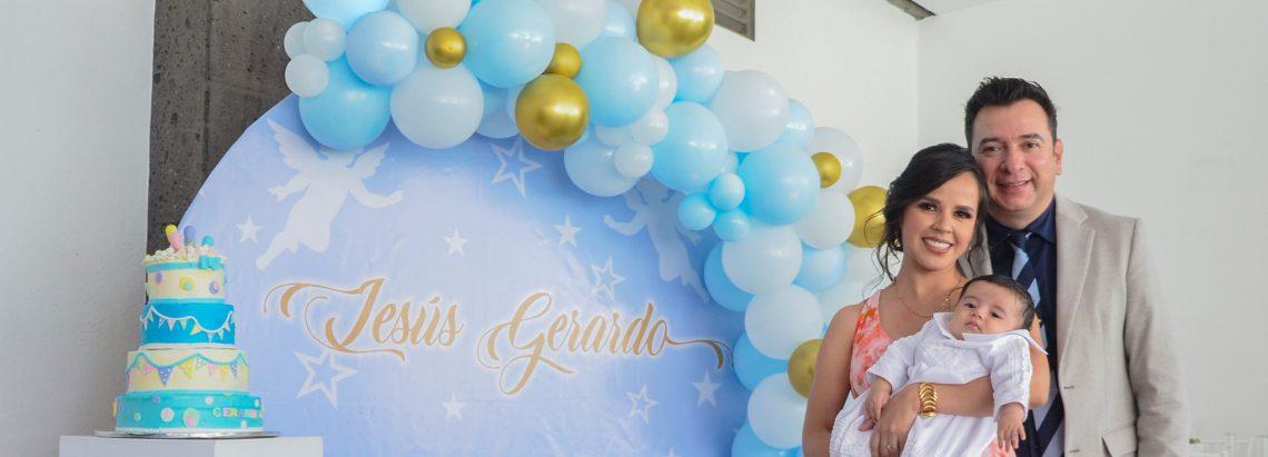 Bautizan a Jesús Gerardo